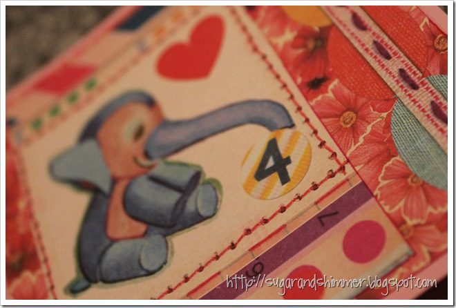 Elephant Birthday Card_details