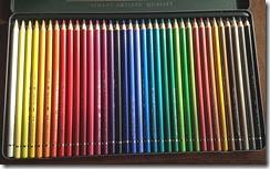 36色の色鉛筆