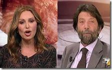 Daniela Santanchè e Massimo Cacciari