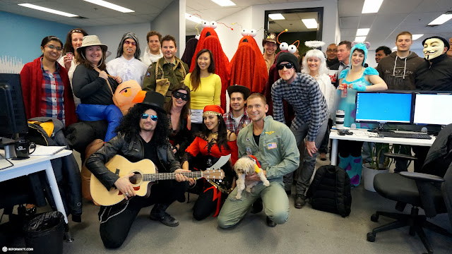 the Climax Team during Halloween 2013 in Etobicoke, Ontario, Canada