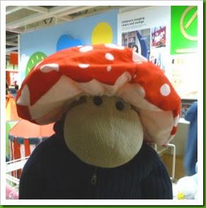 Ikea Mushroom Hat