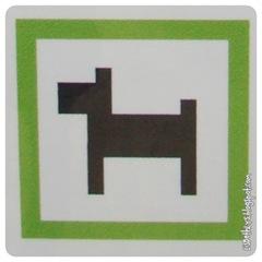 LEGO-hunde er velkomne til at løbe frit omkring i parken!