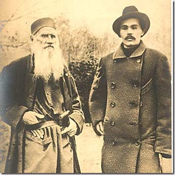 Tolstoi-and-Gorki