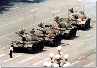 Tank Man Tiananmen