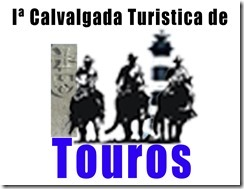 logomarca cavalgada touros