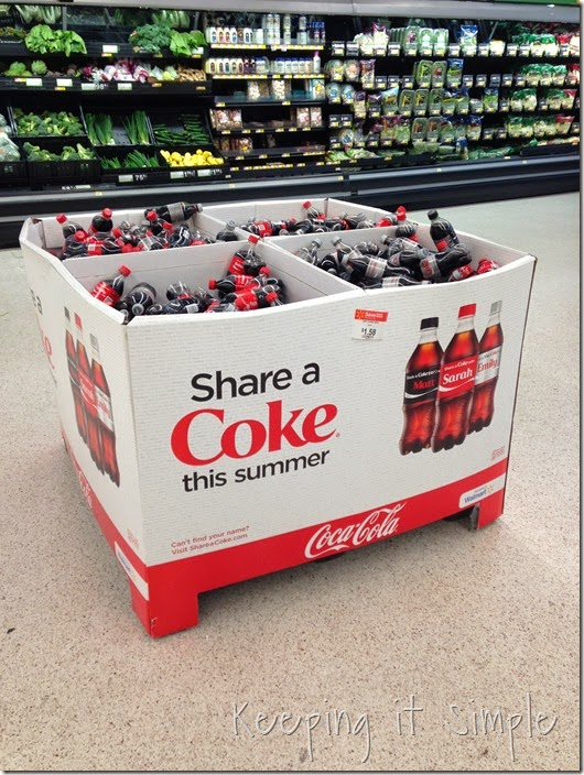 #shop #shareacoke #shareitforward