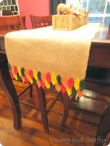 Fall table runner 7