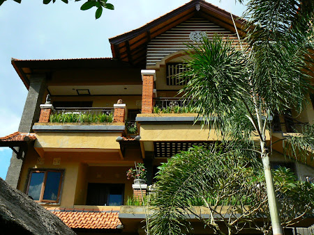 Main guesthouse building in Ubud