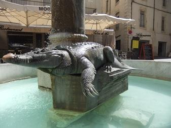 cocodrilo de Nimes