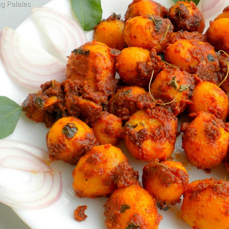 Baby Potato Fry / Roast ~ Spicy & Hot