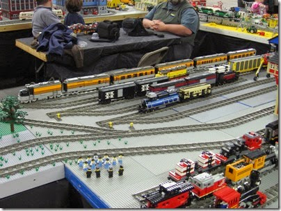 IMG_0177 Greater Portland Lego Railroaders Layout at the Great Train Expo in Portland, Oregon on February 16, 2008