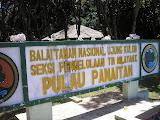 Panaitan island sign (Daniel Quinn, April 2011)