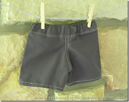 DIY Baby Shorts size 6-12 months (29)