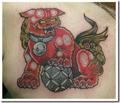 kara shishi_chinese lion_tattoo_hong kong_blackout