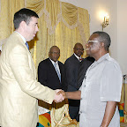 Mr.Kludseson, Of Africa Grobal  Sister Cities Foundation  In  A Handshake With The President_0010.jpg