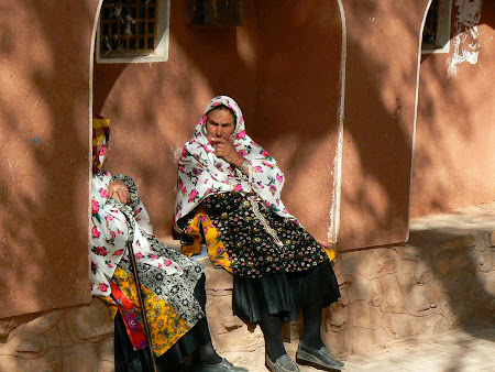Abyaneh: locals