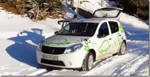 Dacia Sandero Elektro