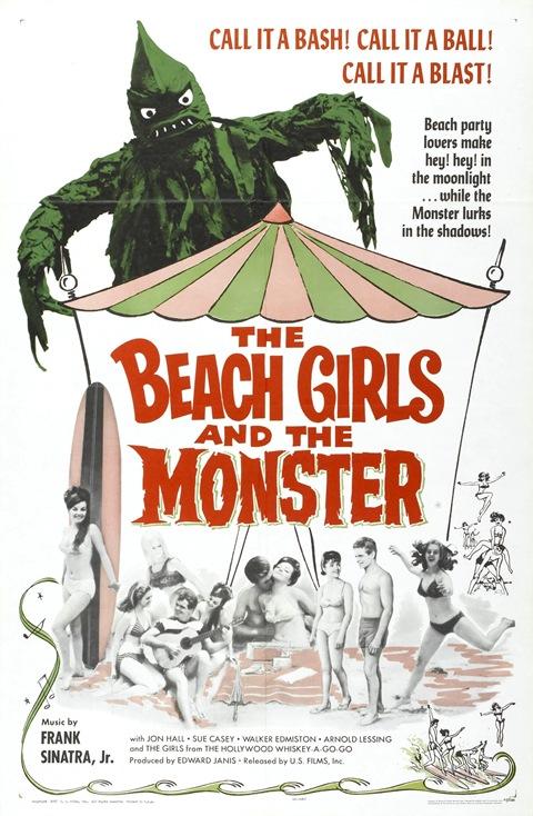 Beach Girls And Monster 01