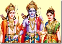 Sita, Rama and Lakshmana