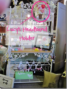 lucy's headband holder