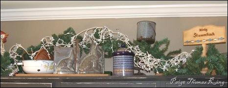 cabinet garland