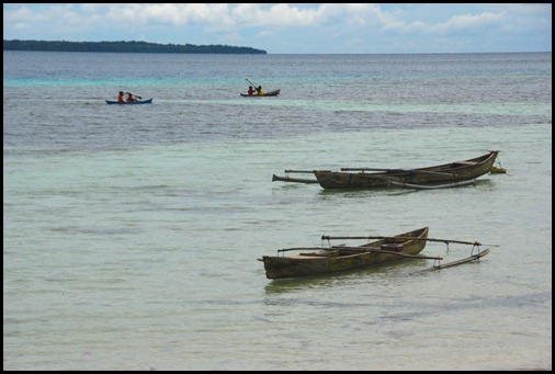 Kei Islands Canoes