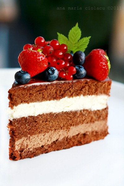 Triple chocolate cake 6wtr