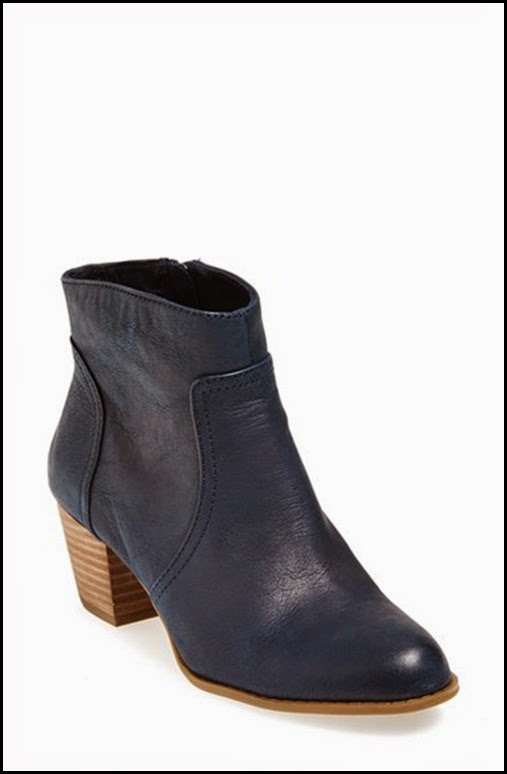navy bootie sole society nordstroms