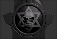 Zionist Skull
