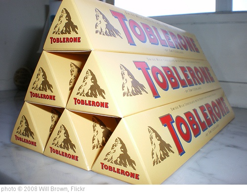 'toblerone' photo (c) 2008, Will Brown - license: http://creativecommons.org/licenses/by-sa/2.0/