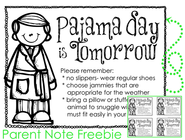 Tips for the Best Ever Pajama Day4