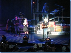 0729 Alberta Calgary Stampede 100th Anniversary - Scotiabank Saddledome - Brad Paisley Virtual Reality Tour Concert - Brad & Kimberly Perry singing Whisky Lullaby