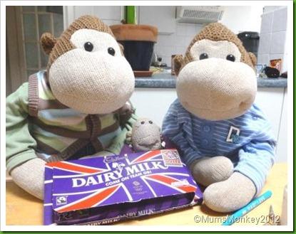 cadbury Olympic Postcard