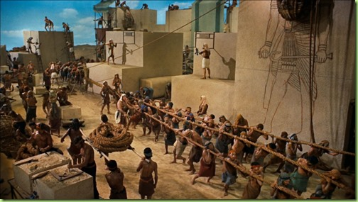 hebrew slaves building Rameses city