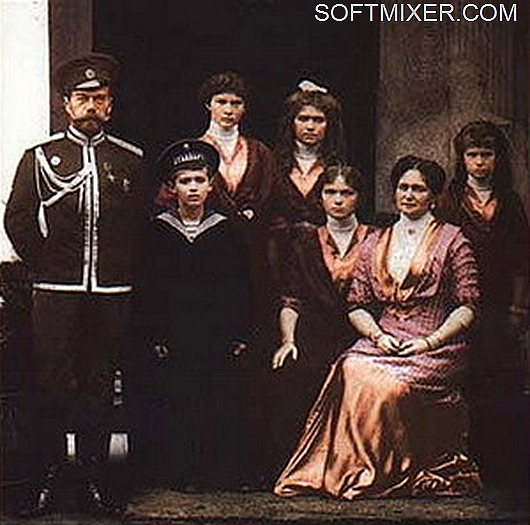 Николай Второй и семья