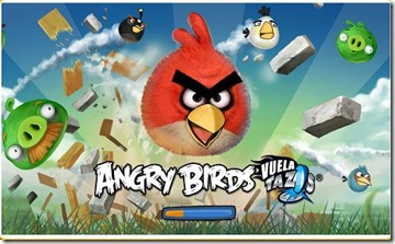 juego angrybirs vuelatazos con pepsi