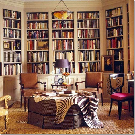 zebra-print-rug-thrown-over-an-ottoman-in-a-home-library-trendspotting-getting-wild-with-animal-prints-home-design-and-decor-ideas-and-inspiration
