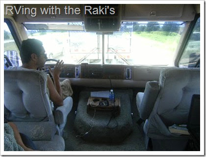 A peek into our 30 foot long 1990 Airex motorhome, where we will be living with our three children.  RVing with the Raki's.