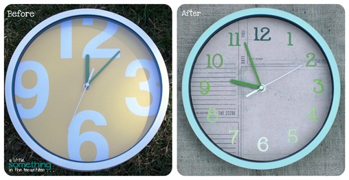 Clock Before & After WM
