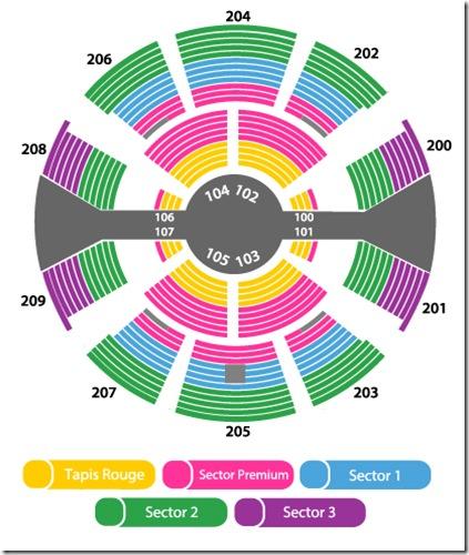 sectores circo du soleil buenos aires Junio 2014 venta de boletos y entrdas baratas primera fila