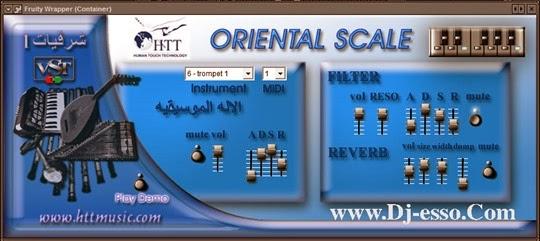 SIKA Oriental Scale لموزعين الشرقيات 8 آلات شرقيه متميزه جدا VSTi تدعم الفروتى لوبس Fl studio