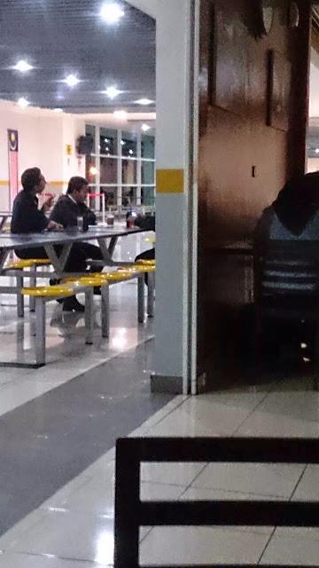 Polis Bantuan Merokok Di Tempat Berhawa Dingin Di Terminal Bersepadu Selatan TBS