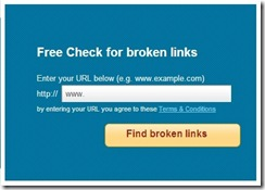 Free Broken Link Checker_website