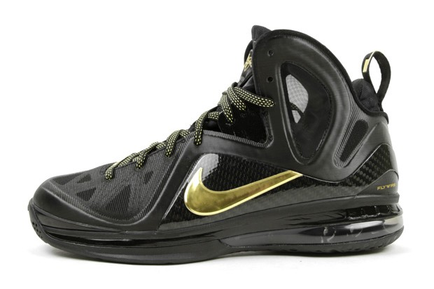 nike lebron 9 p.s. elite black metallic gold