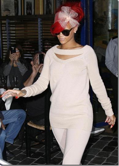 Rihanna Rihanna Out Dinner Paris GFaq7Mgm9TKl