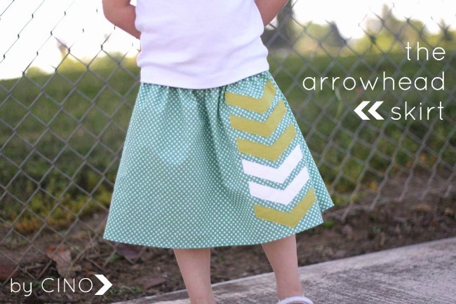 the arrowhead skirt tutorial