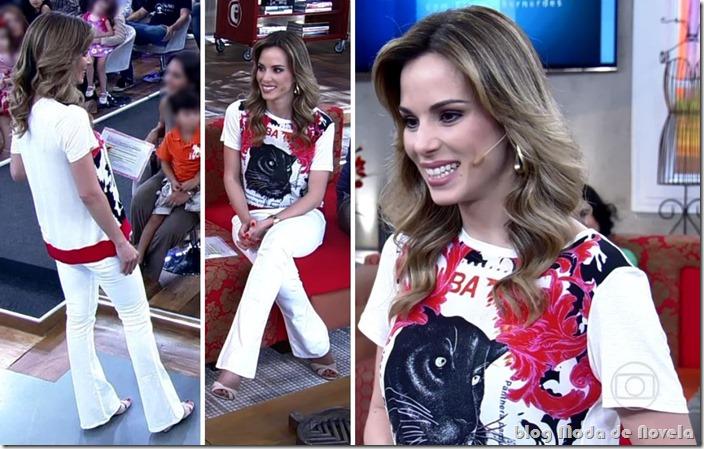 moda do programa encontro - ana furtado no dia 07 de março de 2014