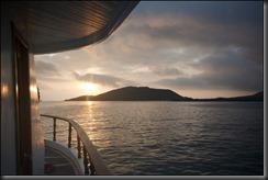 Sunrise from Darwin