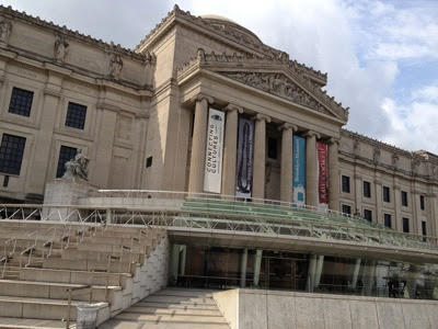 Brooklyn Museum of Art  front