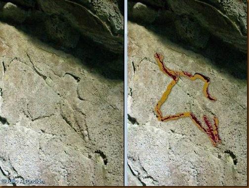 Cueva de Artetxe - Garaioa - Posibles grabados rupestres